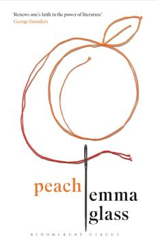 Peach Emma Glass