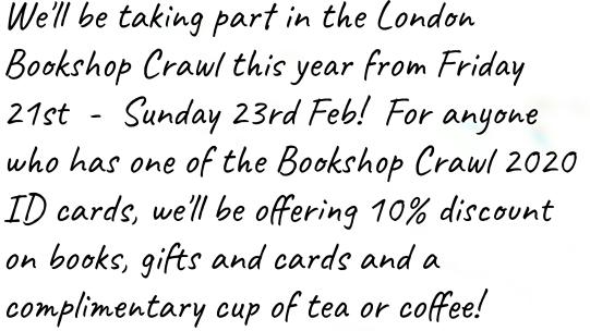 bookshop crawl